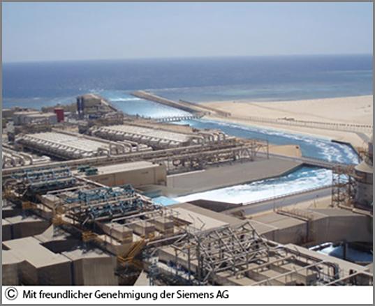 Hier wird Salzwasser zu Trinkwasser
