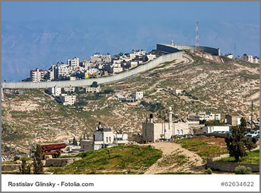 Trennt Feinde und Freunde: die Sperranlage in Israel