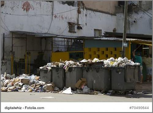 Wenn die Müllabfuhr nicht mehr kommt...