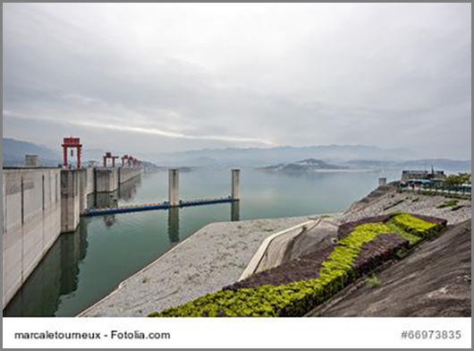 Umstritten: der Drei Schluchten Staudamm in China