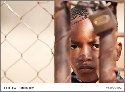 Das Leben im Flüchtlingslager ist für Kinder hart