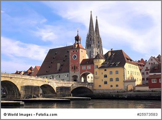 Eine von vielen römischen Stadtgründungen: Regensburg
