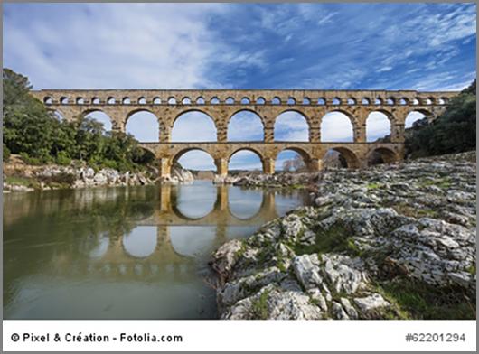 Der Pont du Gard in Frankreich