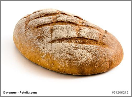 Manchmal unbezahlbar: ein Laib Brot