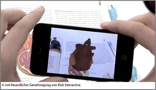 Erweiterte Wirklichkeit: Handys erwecken Bücher zum Leben