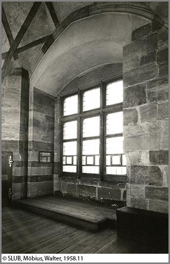 Aus diesem Fenster warfen Prager Protestanten die königlichen Statthalter