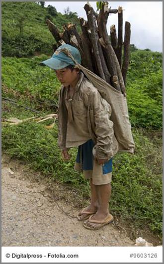 Kinderarbeit gibt es in vielen Ländern auch heute noch
