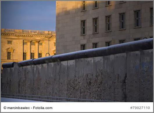 Bis 1989 teilte eine Mauer Berlin