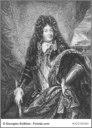 Inbegriff des absolutistischen Herrschers: Ludwig XIV (14) von Frankreich