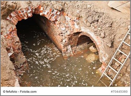 Rettet Menschenleben: die Kanalisation