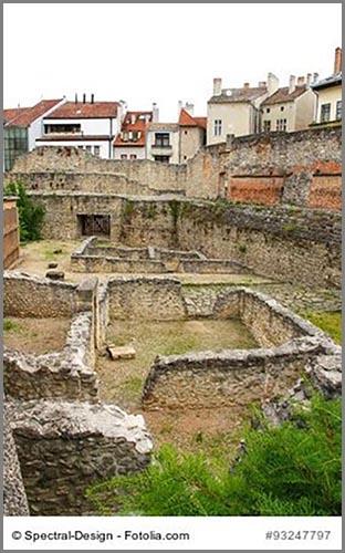 Eine archäologische Ausgrabung mitten in der Stadt