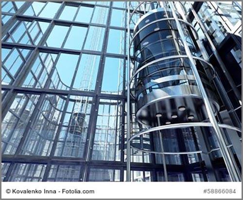 Machen Hochhäuser erst möglich: Aufzüge