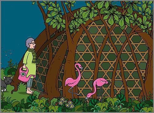 So könnte ein gewachsenen Naturhaus in der Zukunft aussehen