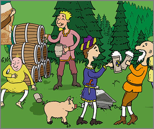 Nicht immer lecker aber dafür gesund: Bier im Mittelalter