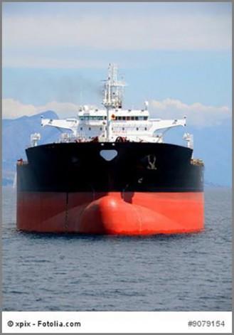 Transportieren Erdöl auf dem Wasserweg: Supertanker