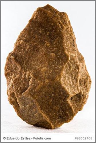 Ein altsteinzeitlicher Faustkeil