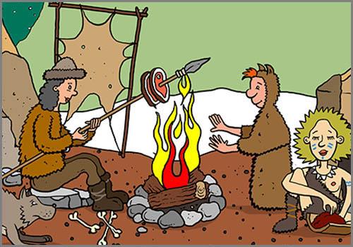 Wird vom Menschen seit mindestens 800.000 Jahren genutzt: Feuer
