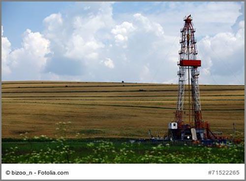 Von außen unscheinbar: eine Frackinganlage