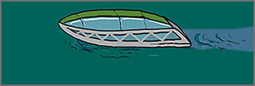 Klärschiffe: schwimmende Naturkläranlagen der Zukunft
