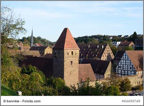 Das mittelalterliche Kloster von Maulbronn