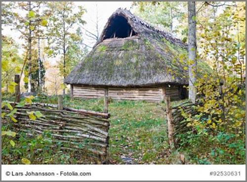 Recht geräumig: ein jungsteinzeitliches Langhaus