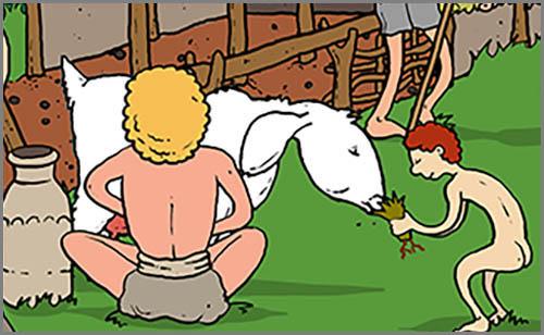 Eine Erfindung der Jungsteinzeit: die Milchviehhaltung