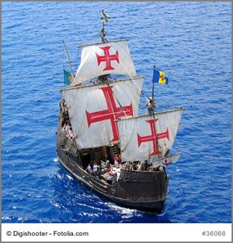 Auf dem Weg nach Amerika: Christopher Kolumbus
