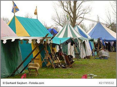 Haben so oder so ähnlich ausgesehen: Märkte im Mittelalter