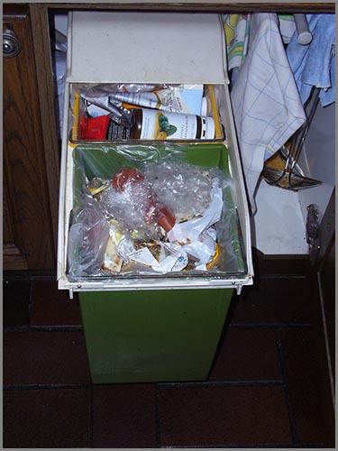 Die Müllvermeidung beginnt zuhause