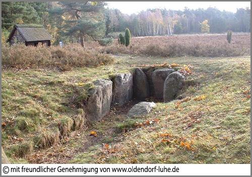 Die Totenstatt von Oldendorf