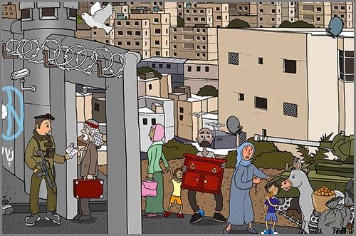 Schaffen oft Wut und Misstrauen: geteilte Städte