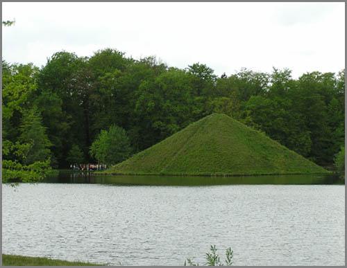 Wär hätte das gedacht: Pyramiden gibt es auch in Deutschland