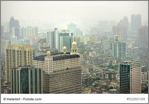 Sieht aus wie Nebel: Smog