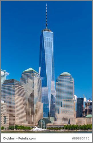 Extrem hoch und extrem teuer: das One World Trade Center in New York