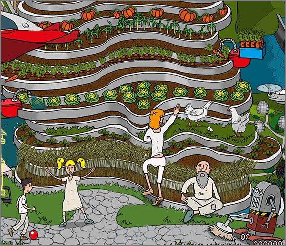 Vertical farming: Gärten an der Hauswand