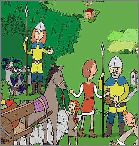 Mussten Handelsreisende im Mittelalter oft bezahlen: Zölle