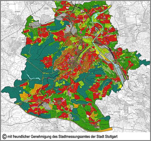 Sieht aus wie ein Flickenteppich: der Flächennutzungsplan