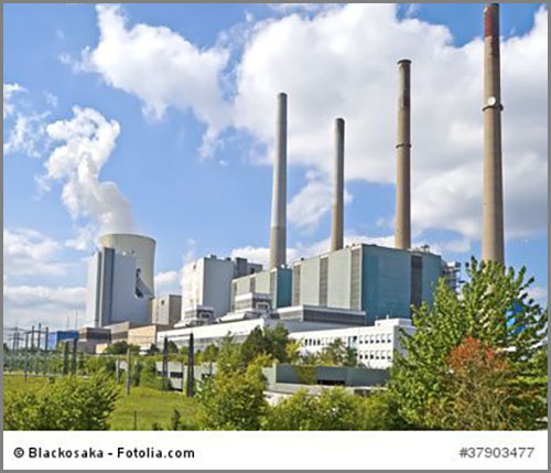 Eine Versorgungsanlage: das Kraftwerk