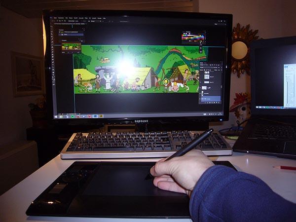 Zeichnen am Computer