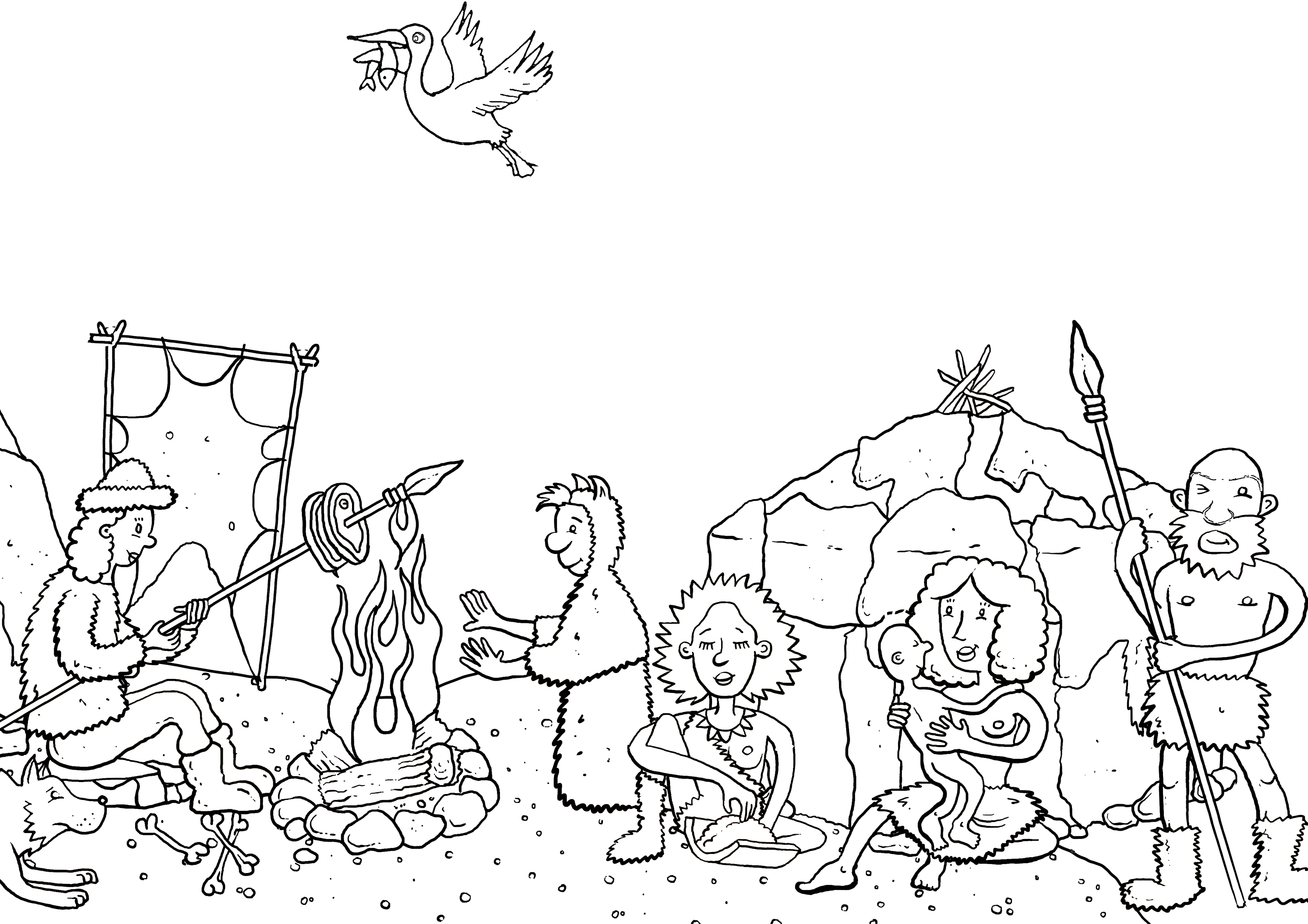 Ice Age Sid Continental Drift Coloring Page Sketch