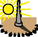 Sonnenuhr bauen