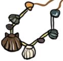 Steinzeitkette basteln